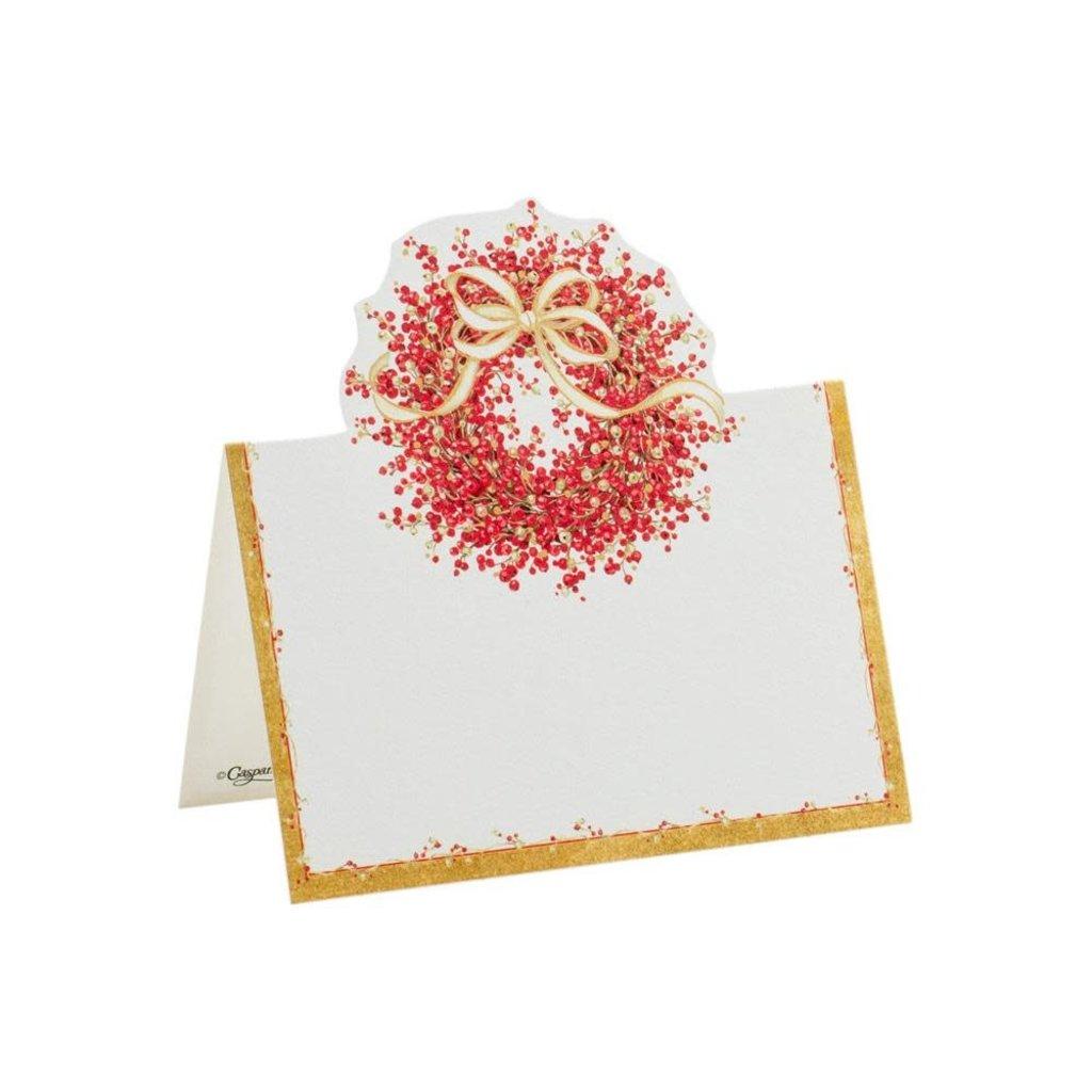 Caspari Caspari Place Cards – Pepperberry Die-Cut