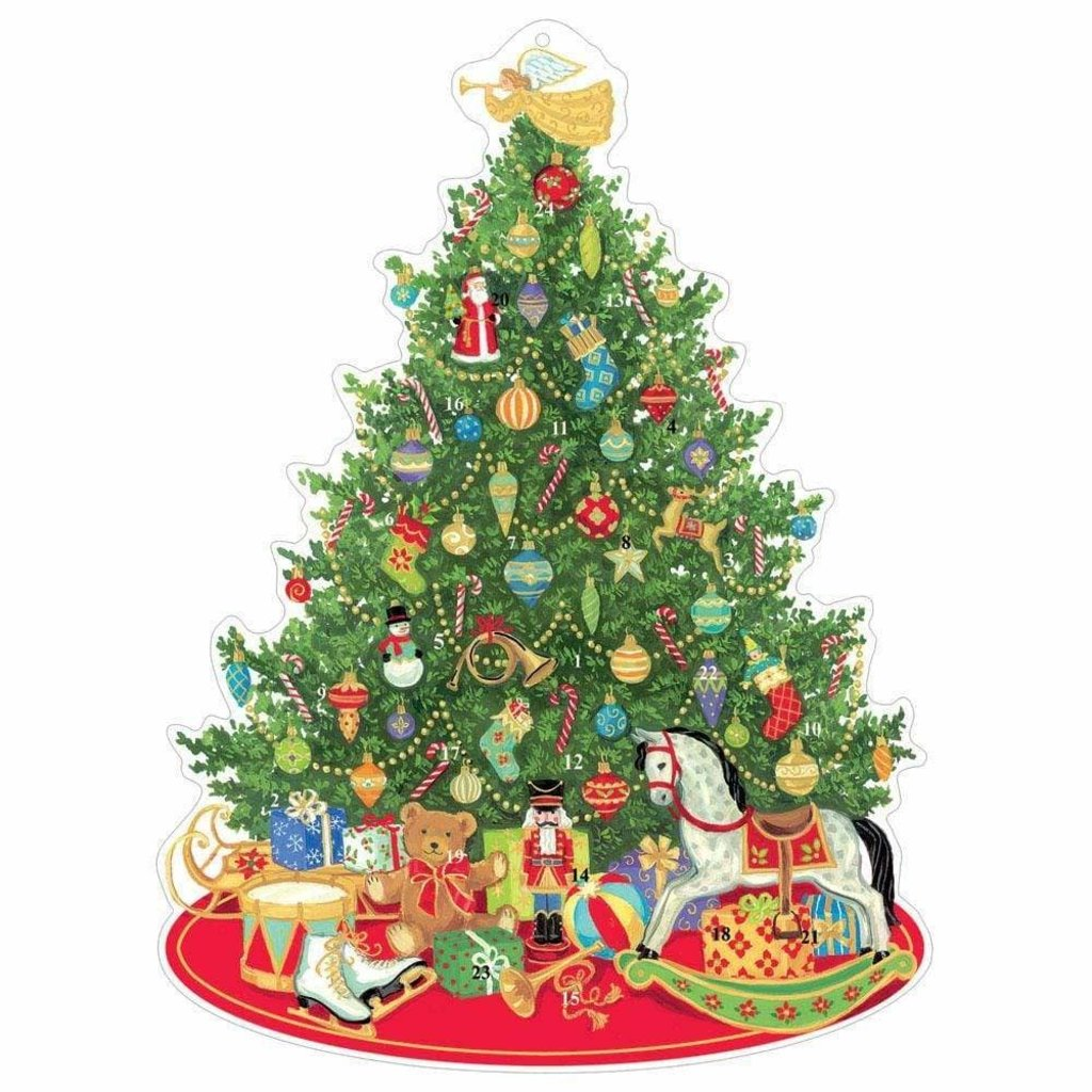 Caspari Caspari Advent Calendar - Oh Christmas Tree