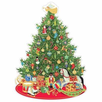 Caspari Caspari Advent Calendar - Oh Christmas Tree