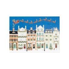 Caspari Caspari Advent Calendar - Santa Delivering Gifts