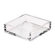 Caspari Caspari Cocktail Napkin Holder - Crystal Acrylic Clear