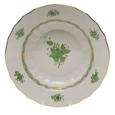 Herend Herend Chinese Bouquet Rim Soup- Green