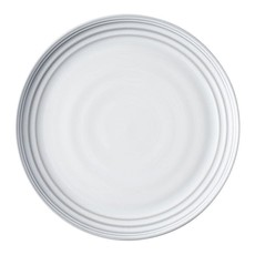 "Juliska Juliska Dinner Plate Bilbao White Truffle 11""W"