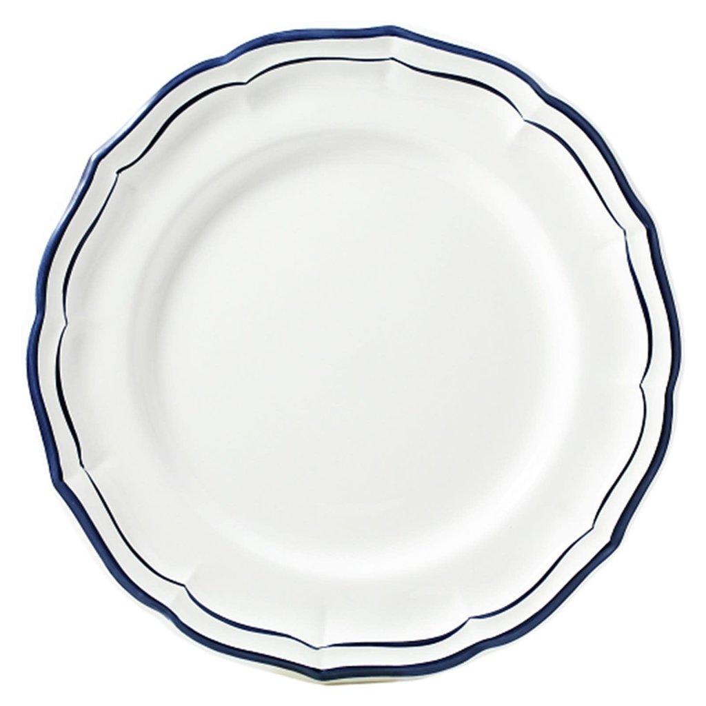 Gien France Gien Filet Indigo Dinner Plate