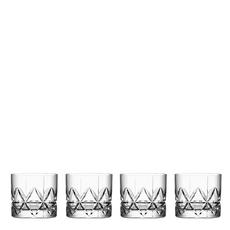 Orrefors Peak DOF Glass (Set of 4)