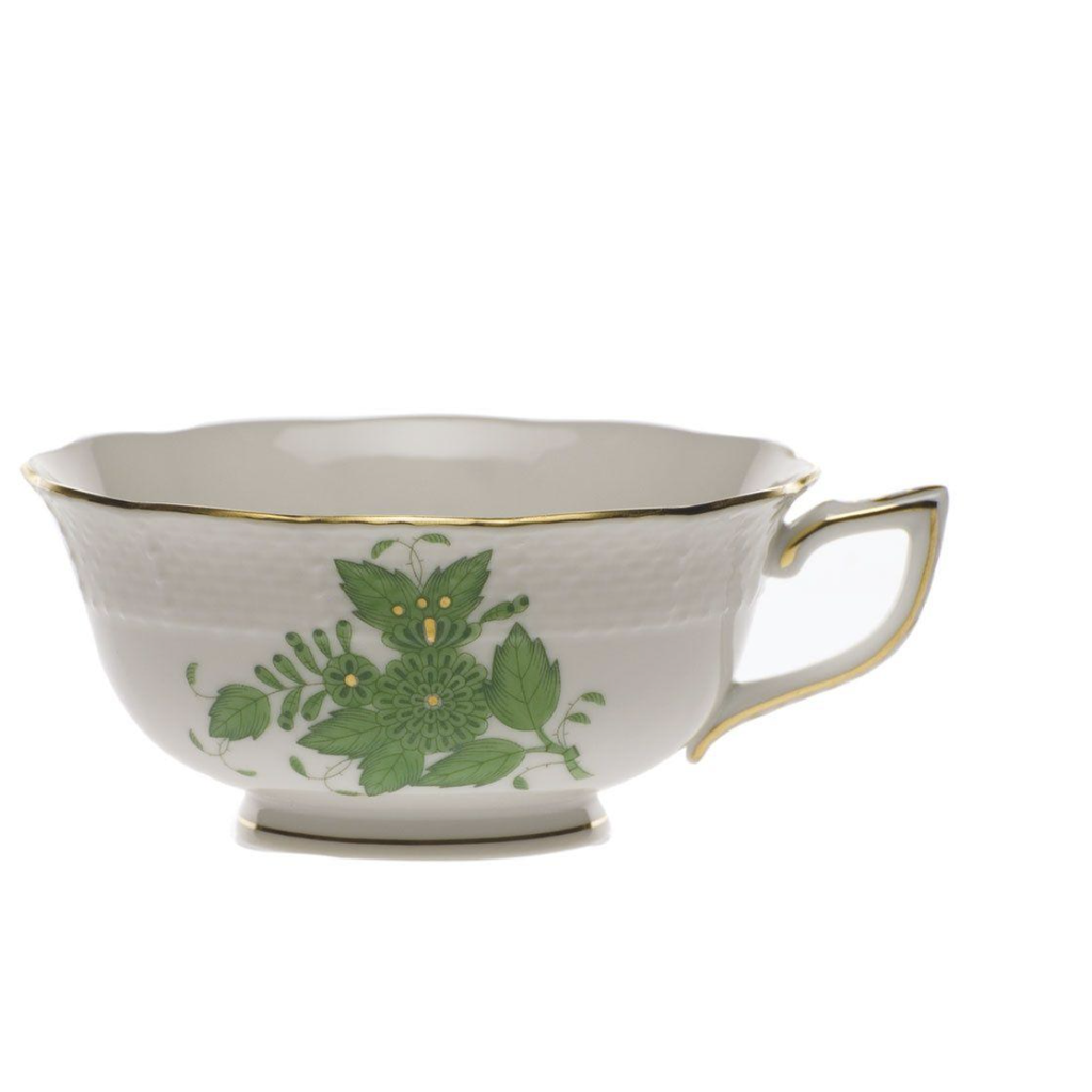 Herend Herend Chinese Bouquet Tea Cup- Green