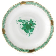 Herend Herend Chinese Bouquet Saucer - Green