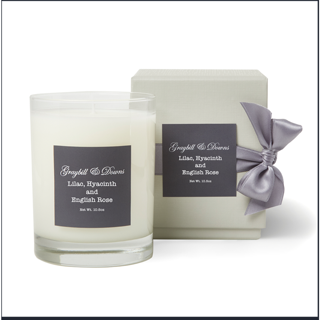 Graybill & Downs Graybill & Downs Lilac, Hyacinth and English Rose Candle