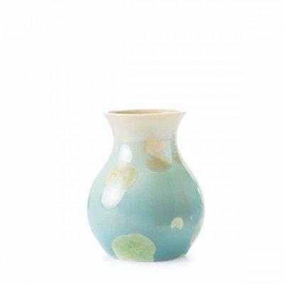 Simon Pearce Simon Pearce Curio Crystalline Bud Vase-Jade