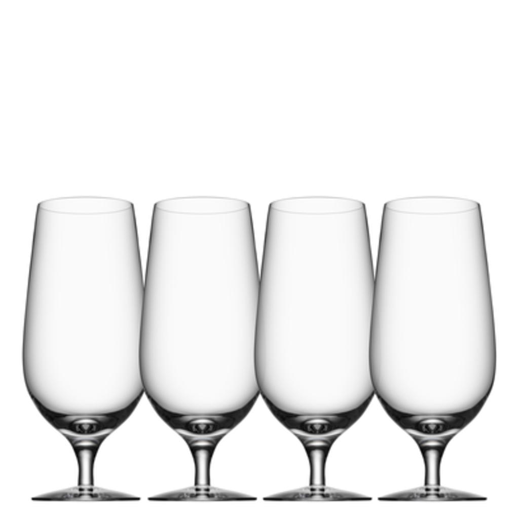 Orrefors Beer Glass Lager (Set of 4)