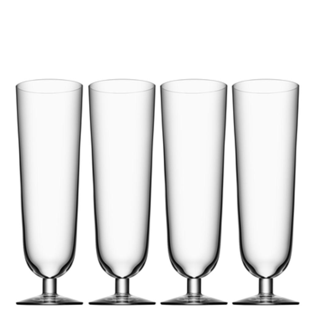 Orrefors Beer Glass Pils (Set of 4)