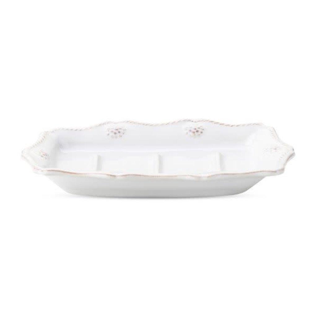 Juliska Juliska Berry & Thread whitewash soap dish