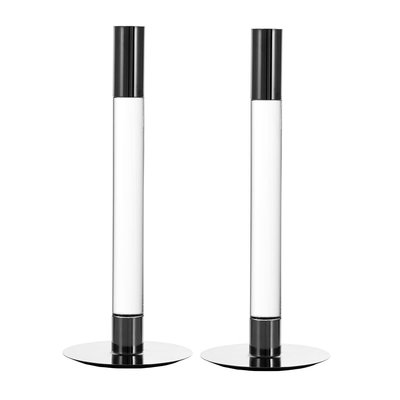 Orrefors Lumiere Candlesticks Set of 2