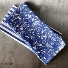 Caskata Caskata Kitchen Towel Peony Blue Overall Kitchen Towels Set/2