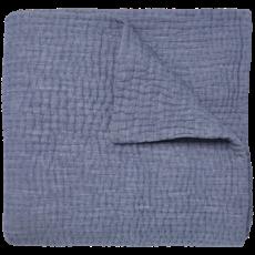John Robshaw Textiles John Robshaw Vivada Woven Coverlet- Indigo