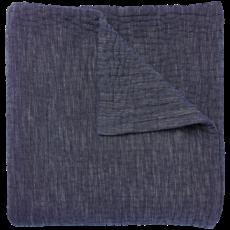 John Robshaw Textiles John Robshaw Vivada Woven Coverlet- Ink