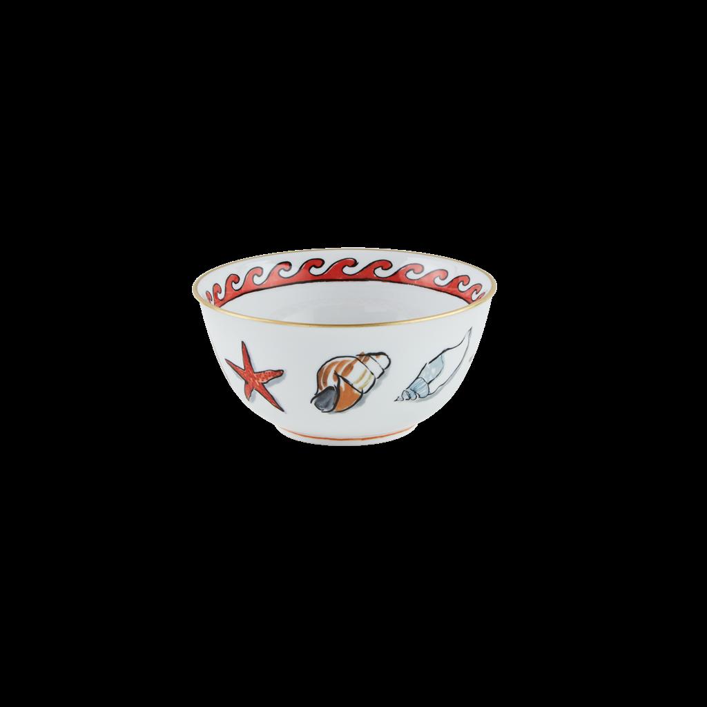 "Richard Ginori Ginori 1735 Il Viaggio Di Netunno White Bowl 17cm, 6.7"""