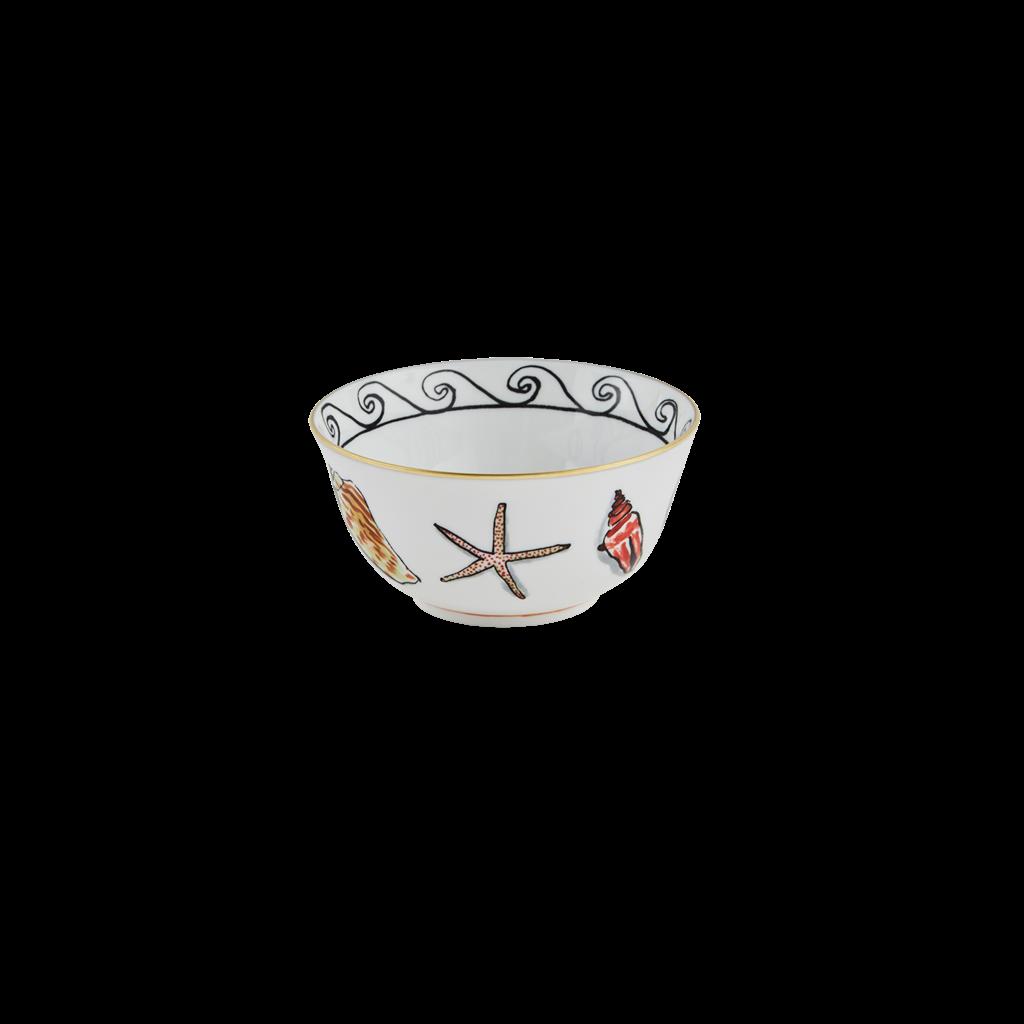 "Richard Ginori Ginori 1735 Il Viaggio Di Netunno White Bowl 11cm, 4.3"""