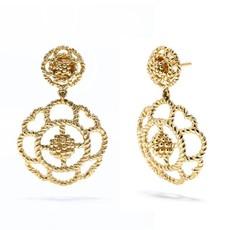 Capucine De Wulf Capucine Gold Double Earrings