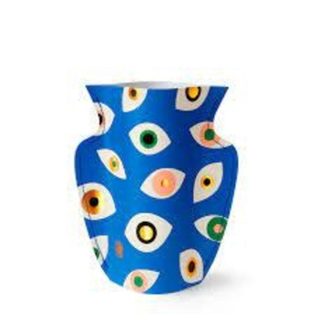 Fiorentina Fiorentina Mini Paper Vase Nazar Blue