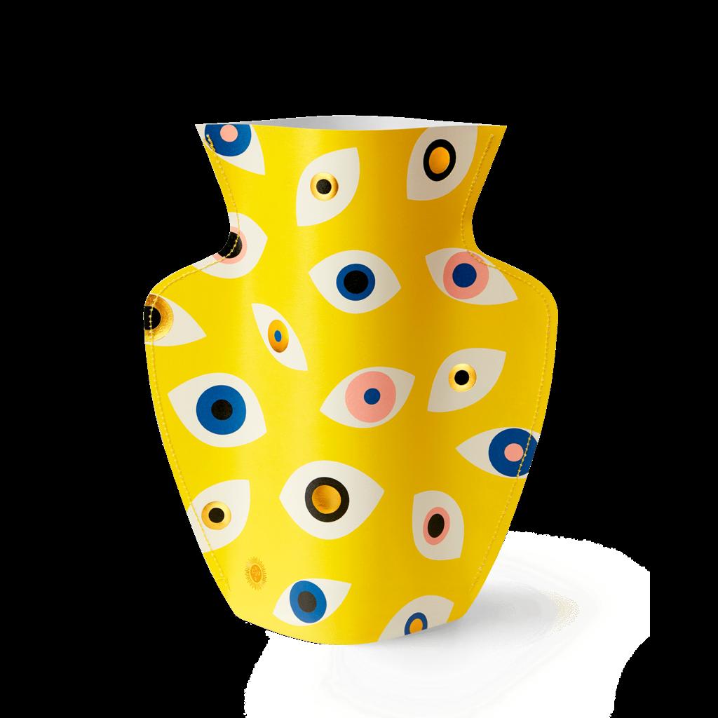 Fiorentina Fiorentina Mini Paper Vase Nazar Yellow