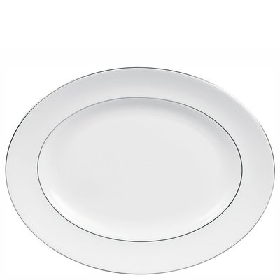 Wedgwood Wedgwood Blanc Sur Blanc Oval Platter