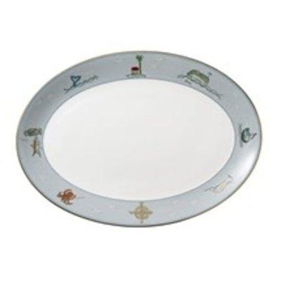 Wedgwood Wedgwood Sailor's Farewell Oval Platter