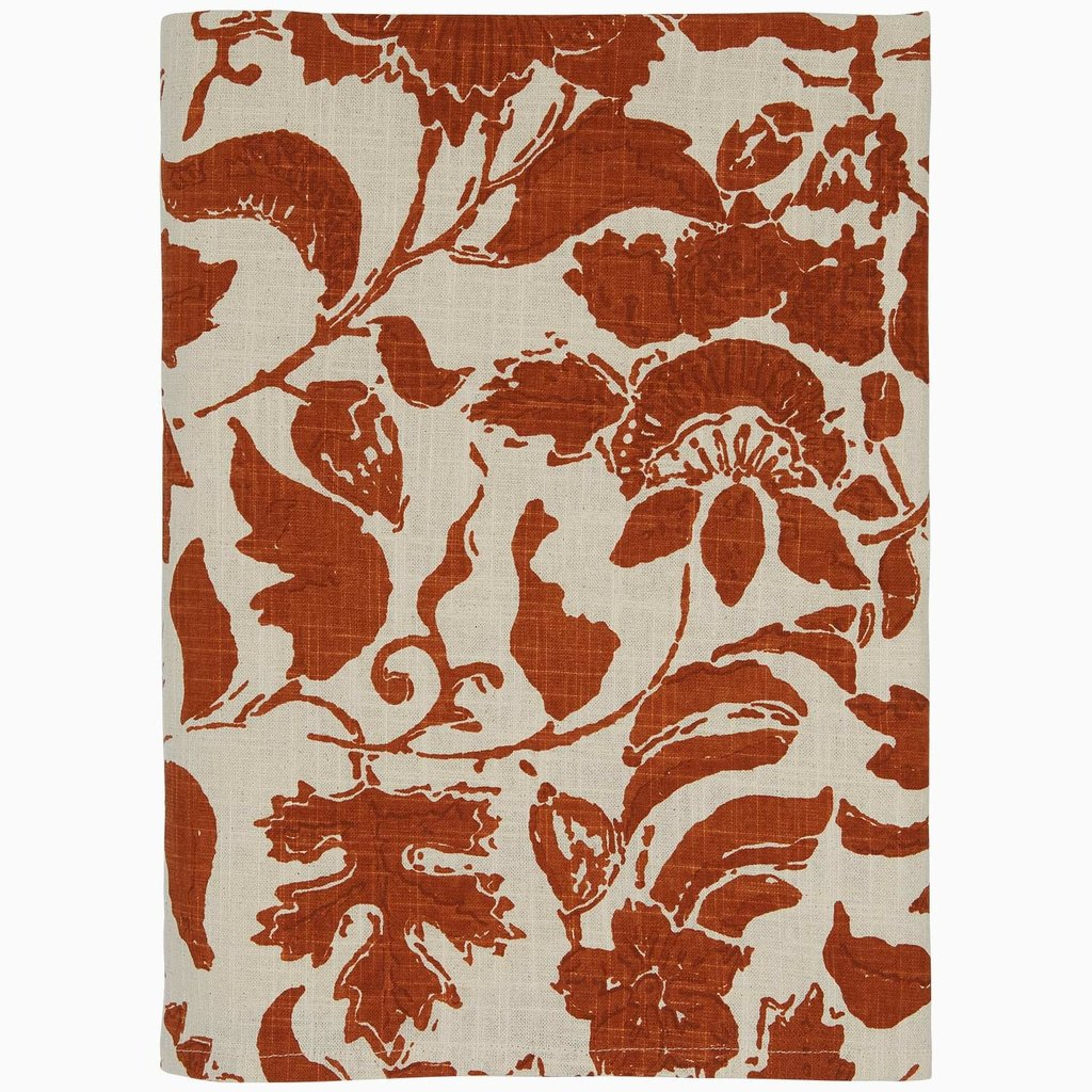 John Robshaw Textiles John Robshaw Vajja Copper Tablecloth 60 x 120