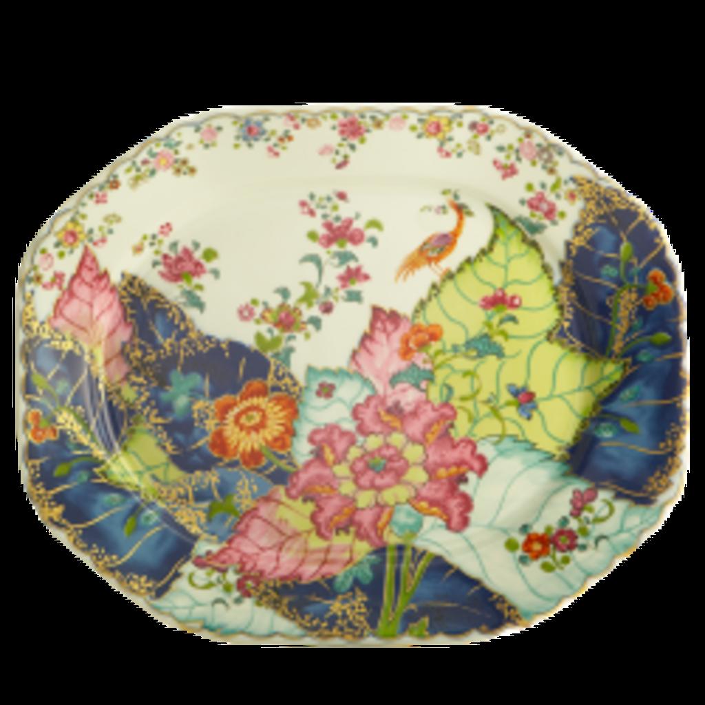 Mottahedeh Mottahedeh Tobacco Leaf Octagonal Platter 15''