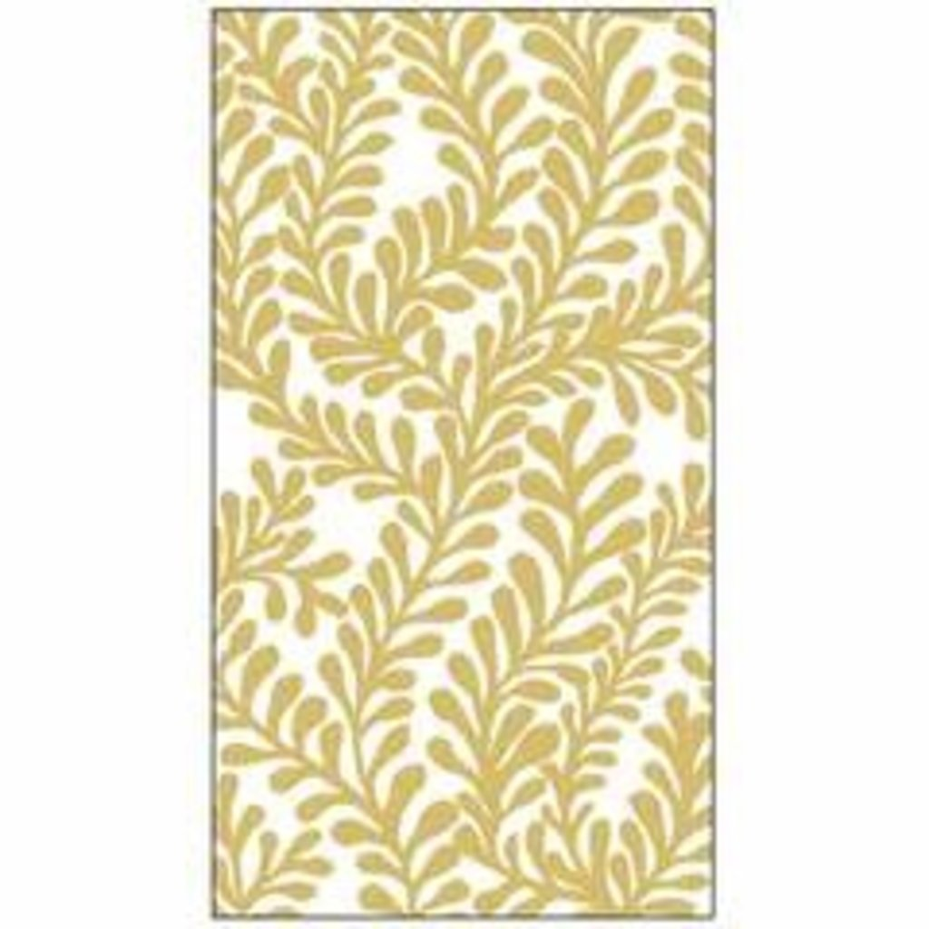 Paperproducts Design PPD Guest Towel - Flora, Gold