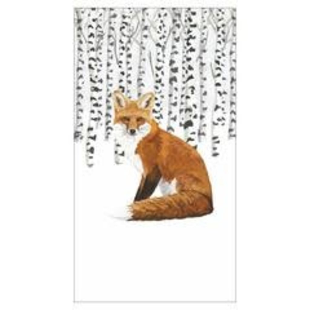Paperproducts Design PPD Guest Towel - Wilderness Fox