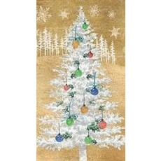 Paperproducts Design PPD Guest Towel - Woodland Tree Gold