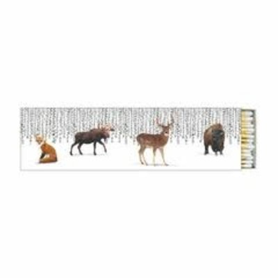 Paperproducts Design PPD Long Matches - Wilderness Animals