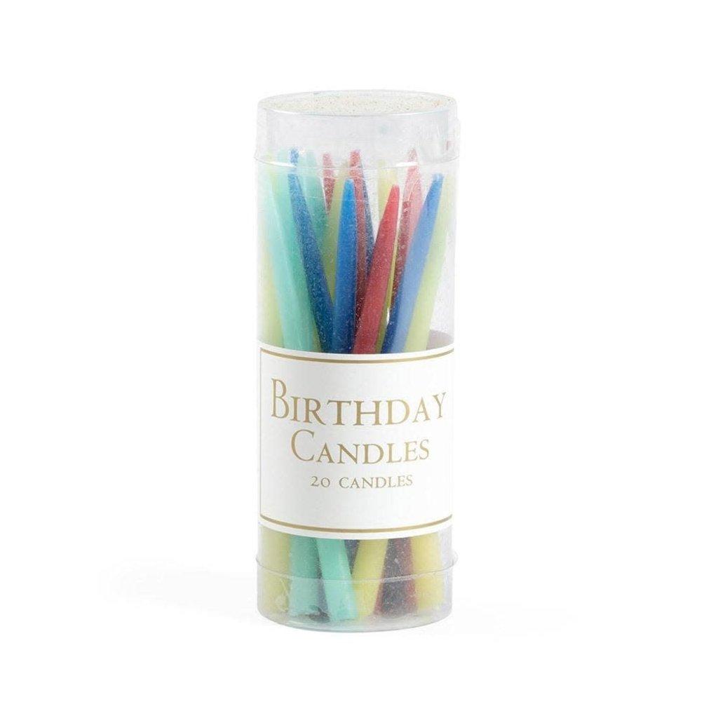 Caspari CASPARI BIRTHDAY CANDLES-BRIGHTS CANDLE BIRTHDAY