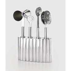 "Mary Jurek Mary Jurek Silhouette Bar Tool Set w/ Holder 6"" x 4"""
