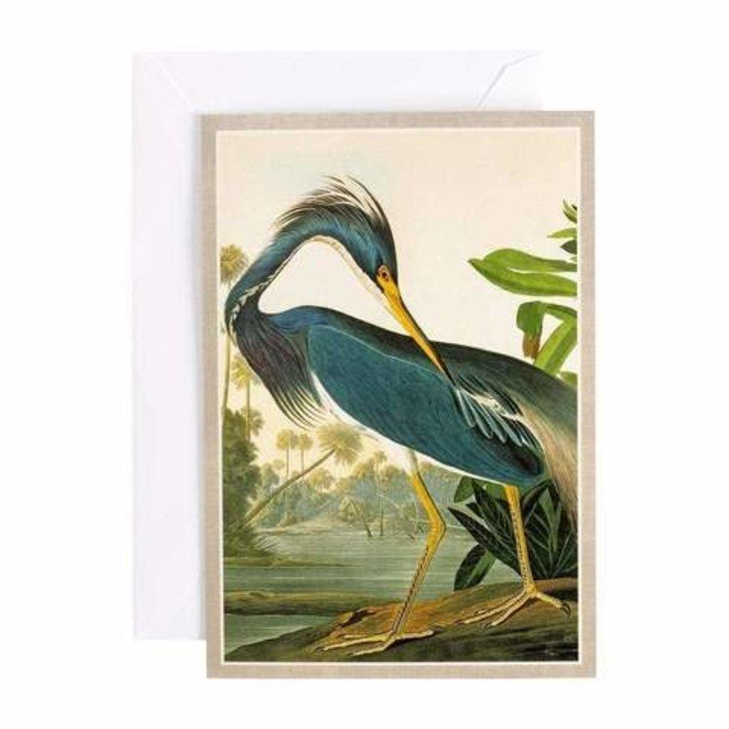Caspari Caspari Greeting Card -  Audubon Heron