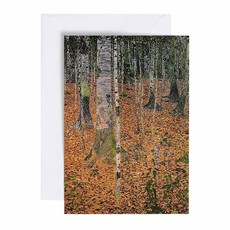 Caspari Caspari Greeting Card -  The Birch Wood (Sympathy)