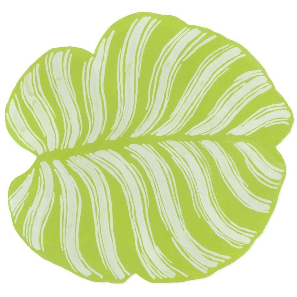 Caspari Caspari Die-Cut Placemat – Tropical Leaf