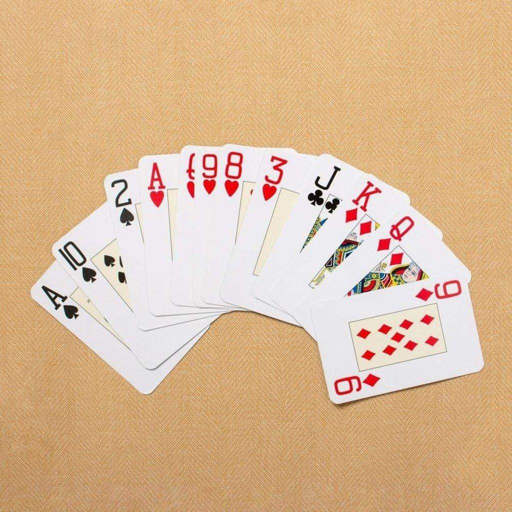 Caspari CASPARI ALBEMARLE HALL PLAYING CARDS JUMBO