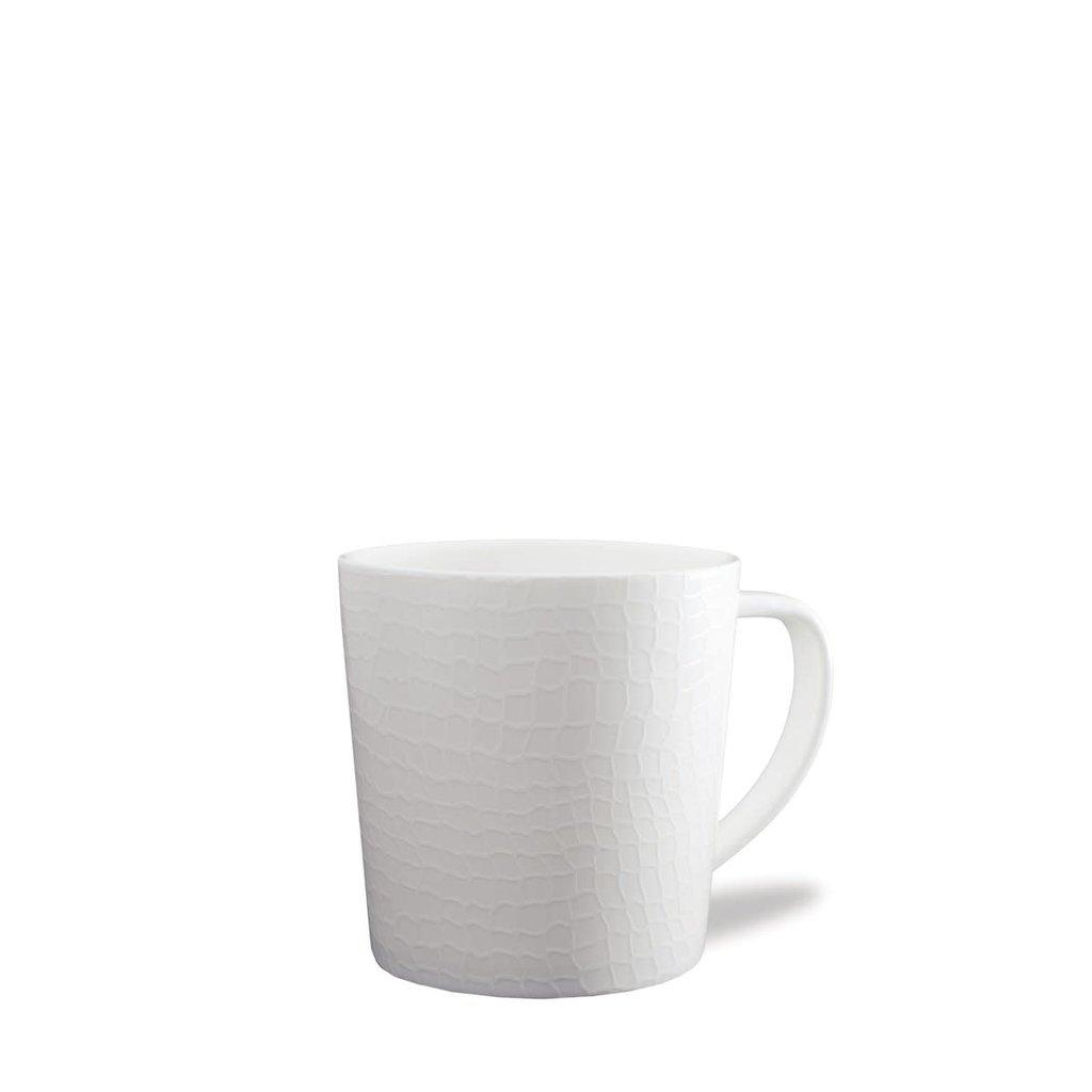 Caskata Caskata Catch Wide Mug - WHITE