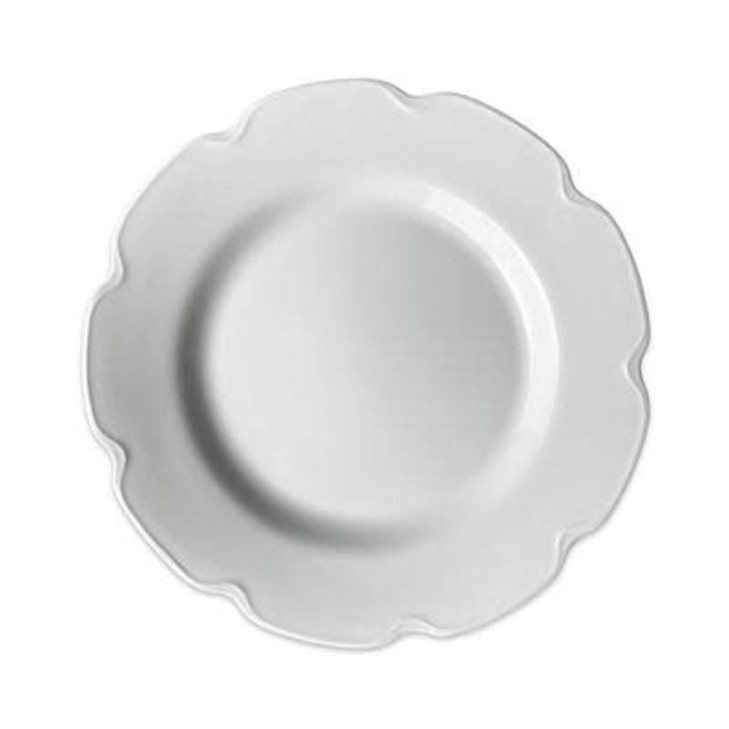 Caskata Caskata Grace White Buffet Plate