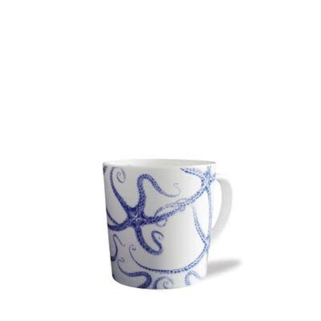 Caskata Caskata Starfish mug white