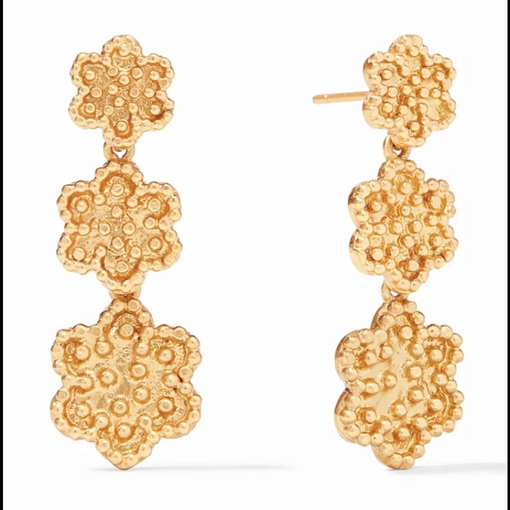 Julie Vos Julie Vos Colette Tier Earring Gold