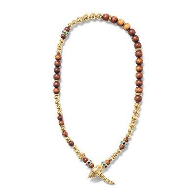 Capucine De Wulf Capucine De Wolf Serpentina Jeweled Lariat Necklace Earth Goddess