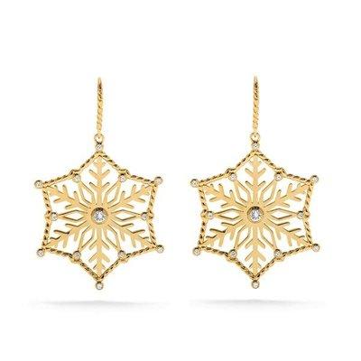 Capucine De Wulf Capucine De Wolf Snowflake Drop Earrings