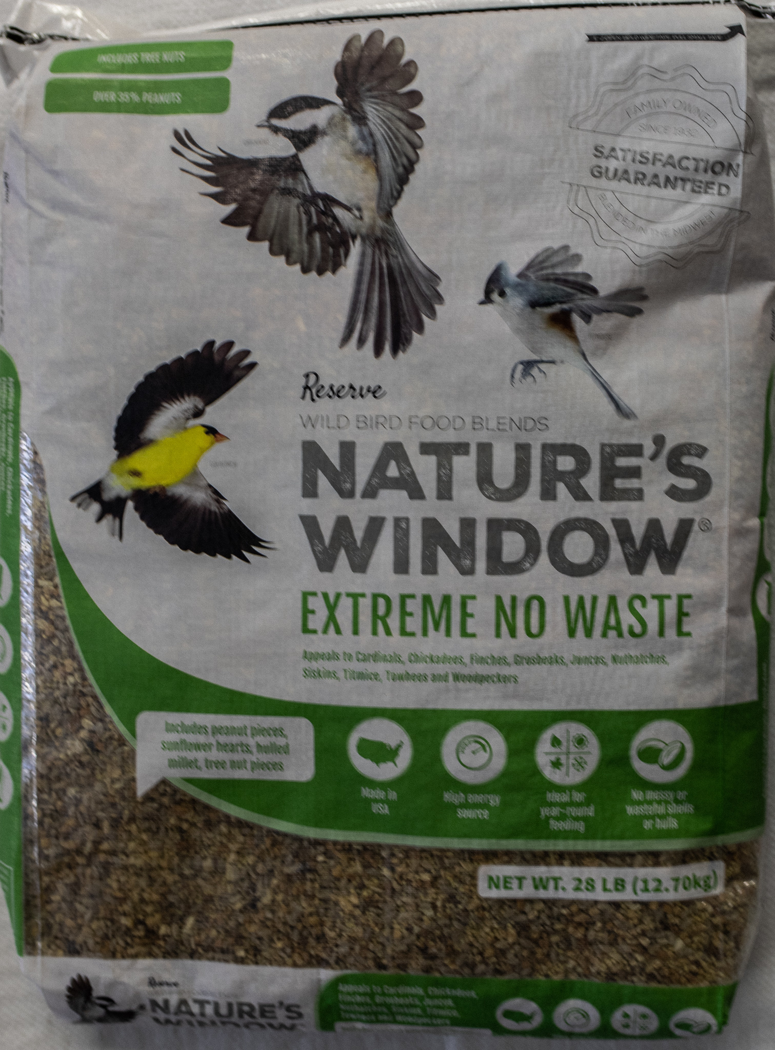 Nature's Window NW Extreme No Waste 28#