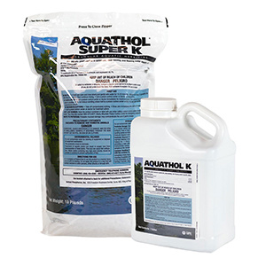 Aquathol Super K Granular & Liquid Pond Care Product
