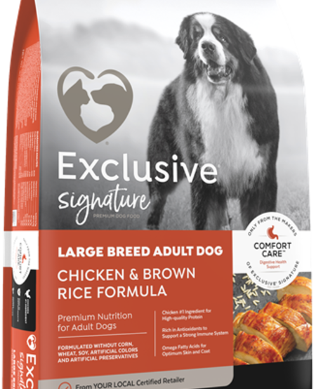 Chicken & Rice Large Breed 30#