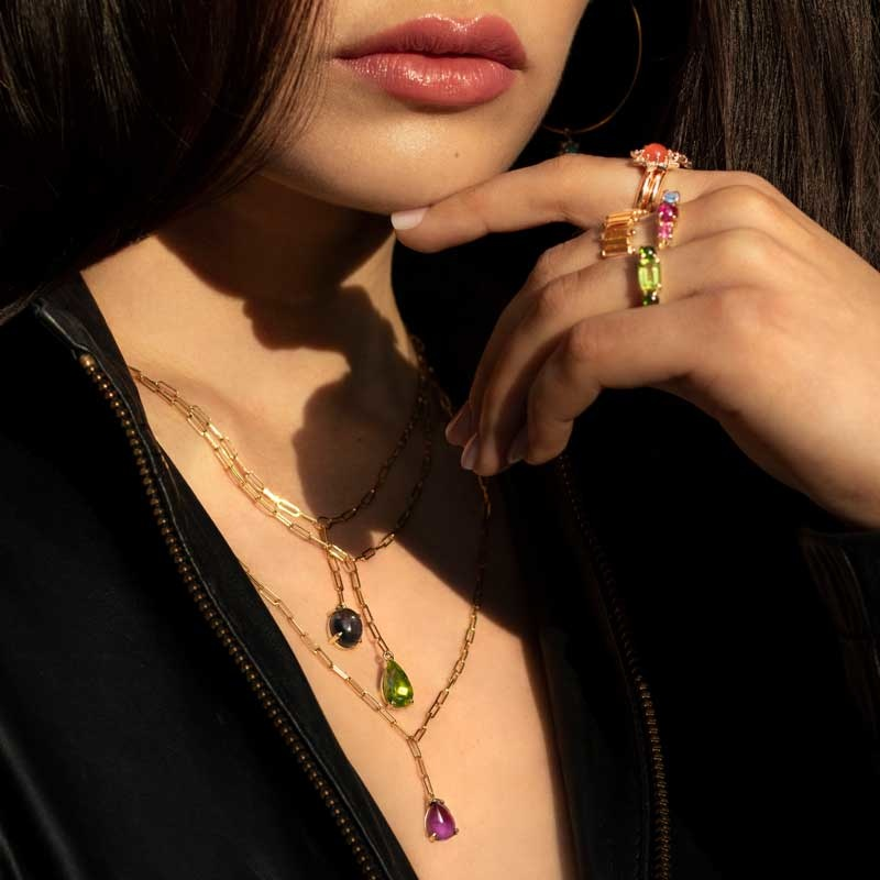 M. Spalten Necklaces & Rings