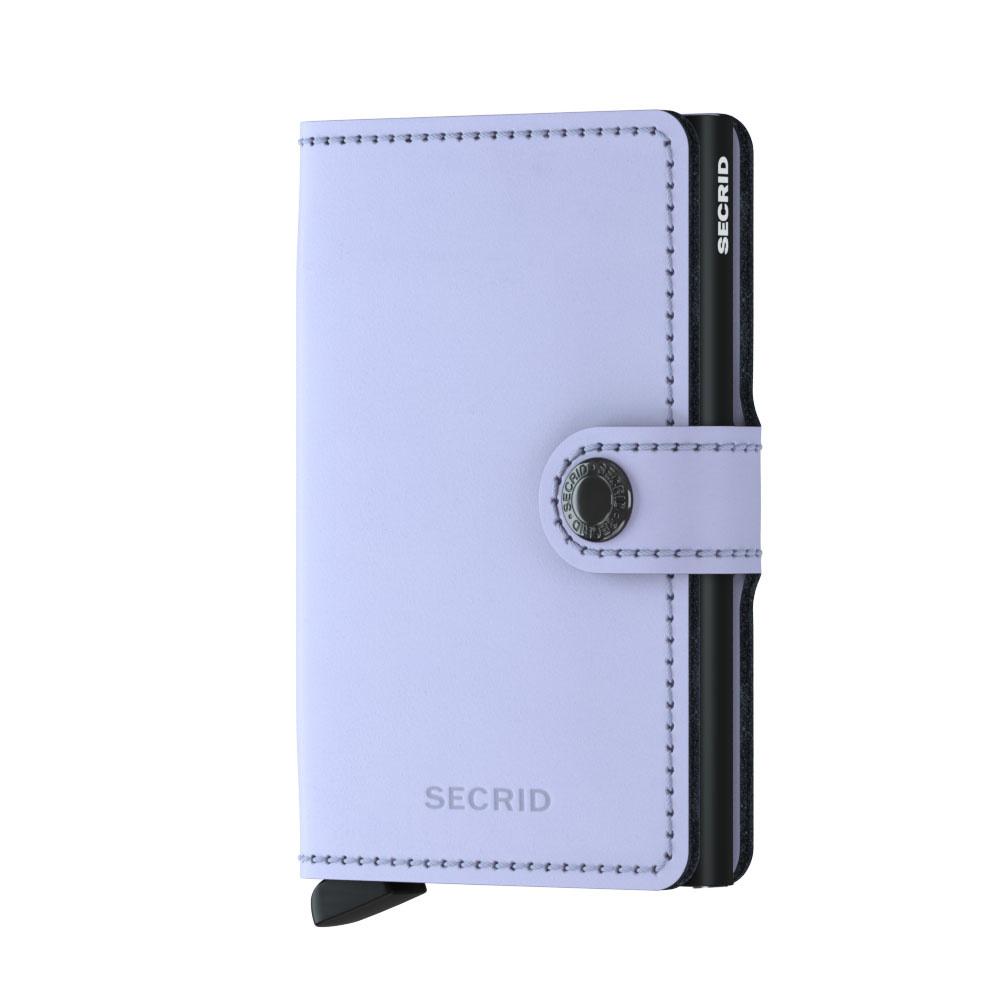 Mini Wallet Matte Lilac Black Ambiente Bc